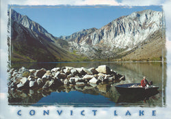 Convict Lake Mammoth Lakes Postcard