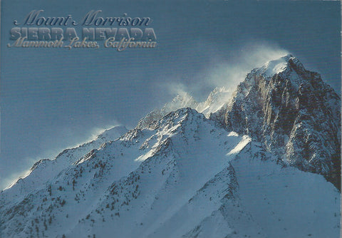 Mount Morrison Winter Postcard-QTY=50