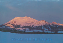 Mammoth Lakes Winter Evening Postcard
