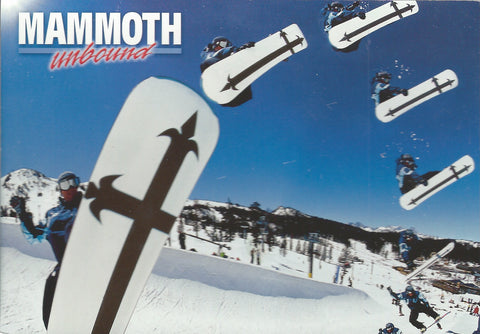 Mammoth Inbound Winter Postcard