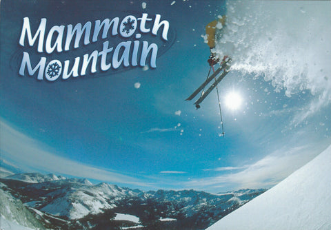 Mammoth Ski Jump Winter Postcard-QTY=50
