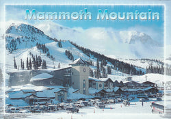 Mammoth Winter Ski Resort Postcard