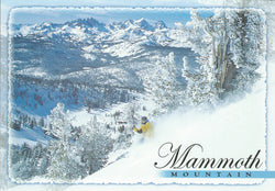 Mammoth Mountain Skiier Postcard-QTY=50