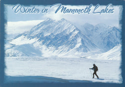 Winter In Mammoth Lakes Postcard