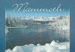 Mammoth Winter Lake Postcard
