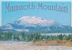 Mammoth Mountain Wide Shot Postcard