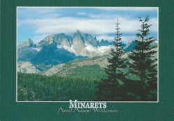 Ansel Adams Wilderness Mammoth Lakes Postcard