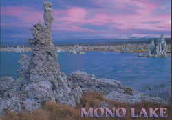 Mono Lake Evening Sky Postcard