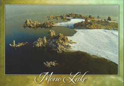 Mono Lake Aerial Postcard-QTY=50