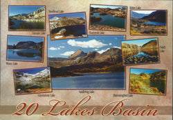 20 Lakes Basin Postcard