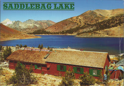 Saddlebag Lake Postcard