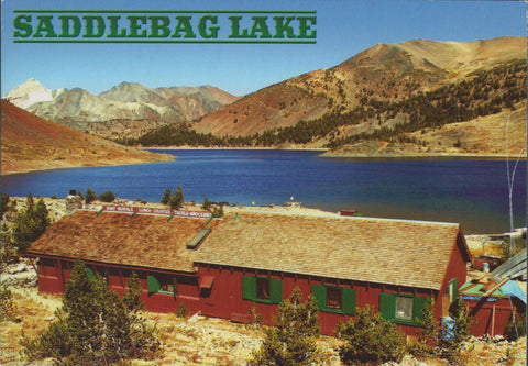 Saddlebag Lake Postcard-QTY=50