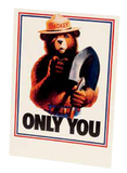 Smokey ONLY YOU Postcard-QTY=50