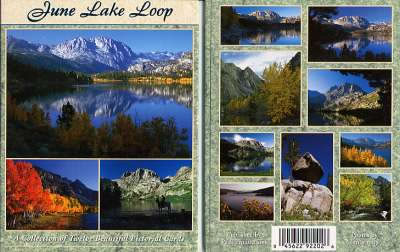 June Lake Postcard Packet