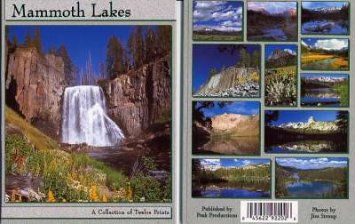 Mammoth Lakes Postcard Packet