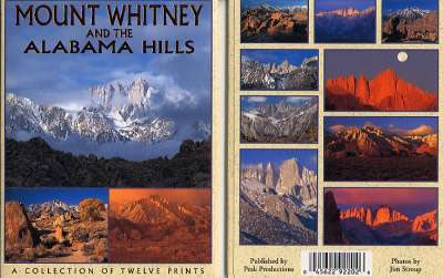 Mt. Whitney Postcard Packet
