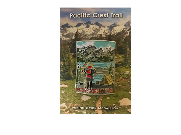 Pacific Crest Trail Hiking Medallion