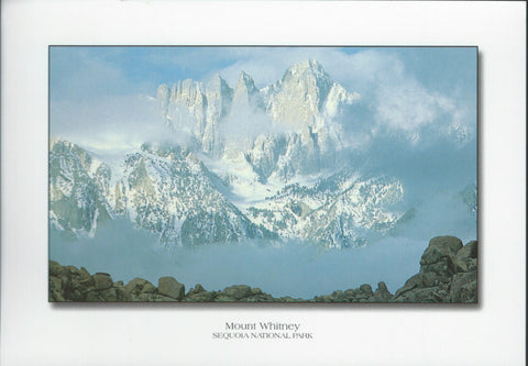 Magnificent Mt. Whitney Postcard-QTY=50
