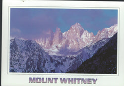 Mount Whitney Postcard-QTY=50