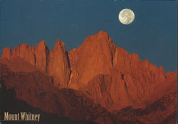 Mt. Whitney Moon Postcard-QTY=50