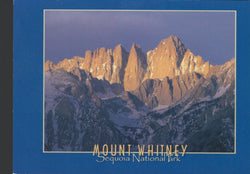 Mt. Whitney Blue Postcard-QTY=50