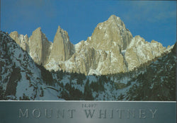 Mt. Whitney Shadow Postcard-QTY=50