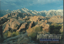Mt. Whitney Alabama Hills Postcard-QTY=50