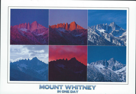 Mt. Whitney In One Day Postcard