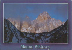 Mt. Whitney Clouds Postcard-QTY=50