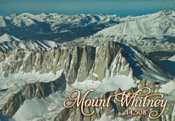 Mt. Whitney Aerial Postcard