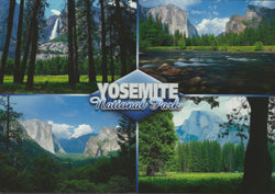 Yosemite National Park Collage Postcard-QTY=50