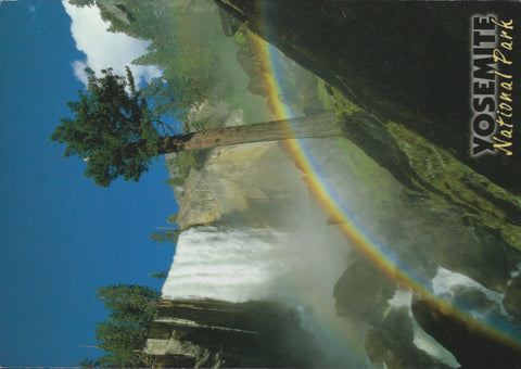 Yosemite Rainbow Postcard-QTY=50