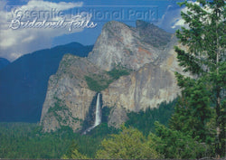 Bridalveil Falls Wide Shot Postcard-QTY=50