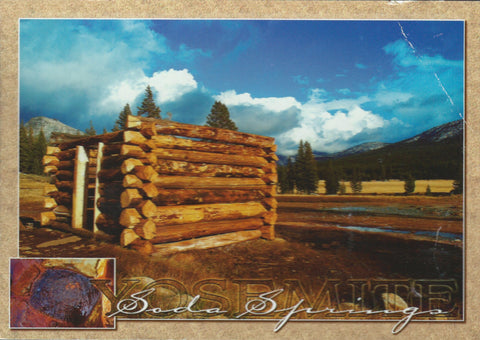 Soda Springs Postcard-QTY=50