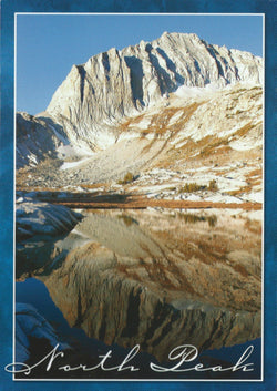 Yosemite North Peak Postcard-QTY=50