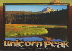 Yosemite Unicorn Peak Postcard-QTY=50
