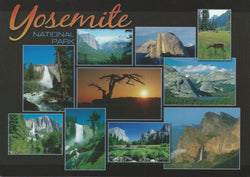 Yosemite Collage Postcard-QTY=50