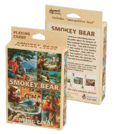 Smokey Playing Cards