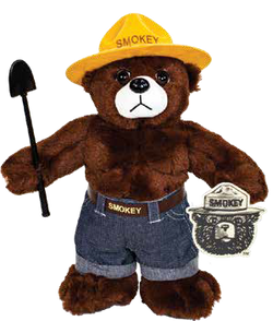 Smokey Bear Plush -12""