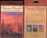 Sierra Nevada Sunset Playing Cards