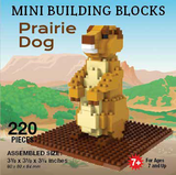 Mini Building Block Prairie Dog