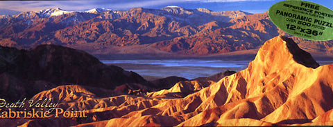 Death Valley Mountains Puzzle