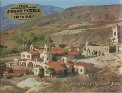 Death Valley Scotty's Castle Puzzle