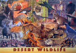 Desert Wildlife Kids Puzzle