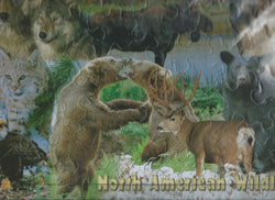 North American Wildlife Kids Puzzle