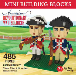 Mini Building Block American Revolutionary War Soldiers