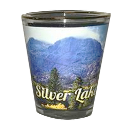 Silver Lake Shot Glass