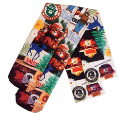 Smokey POP ART Collage Socks