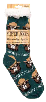 CLASSIC Smokey Green Slipper Socks