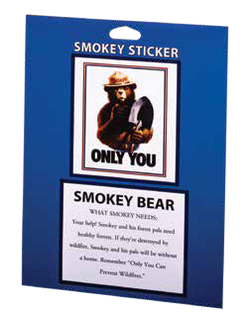 Smokey ONLY YOU Park Sticker